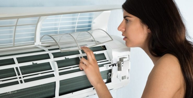 AC Filter Cleaning
