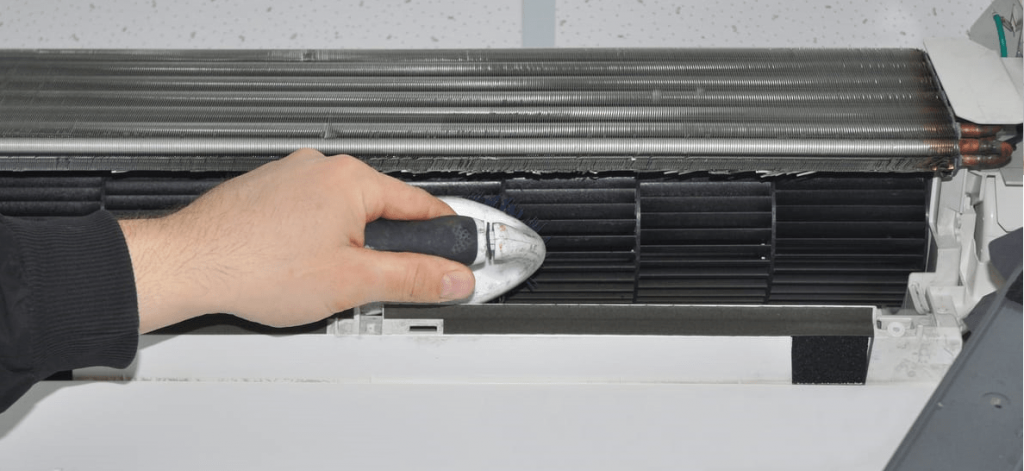 ac condenser cleaning